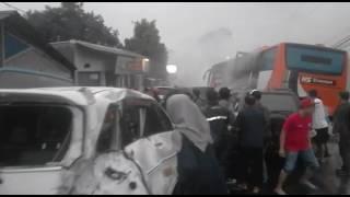 Kecelakaan maut di Puncak, Sabtu (22/4/2017) I