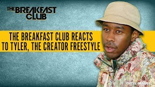 The Breakfast Club Reacts To Tyler, The Creator Freestyle With One Question