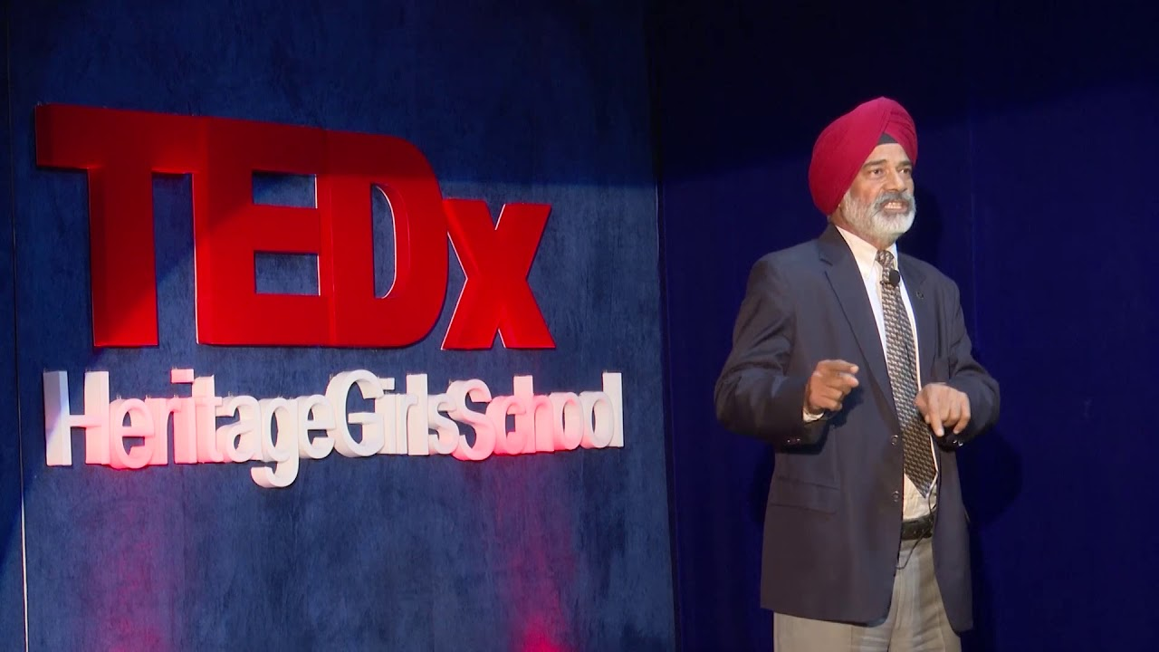 Soldiering and Sports-A pathway to leadership | Lt Gen Balbir Singh Sandhu | TEDxHeritageGirlsSchool