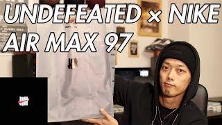 【New Kicks/スニーカー】UNDEFEATED × NIKE AIR MAX 97!!