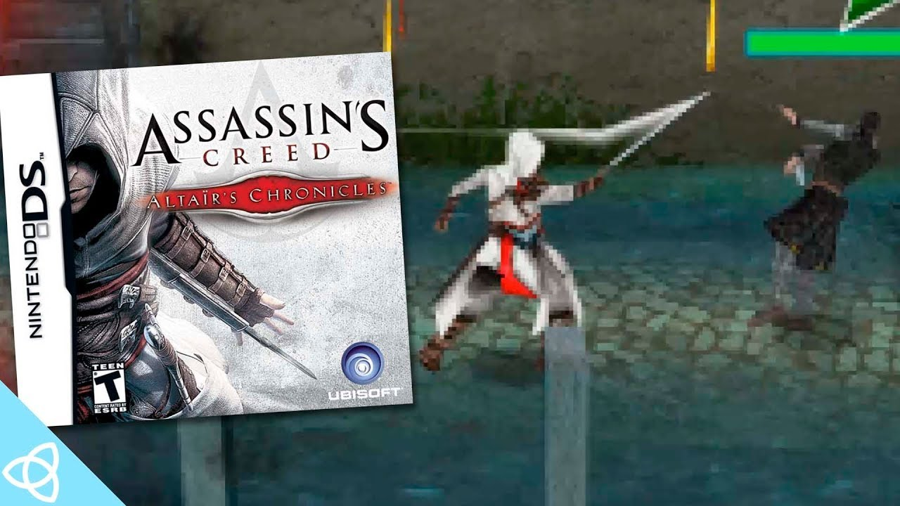 Assassin S Creed Altair S Chronicles Nds Gameplay Demakes 3
