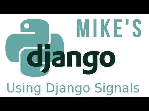 Python Django using django signals