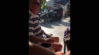 Gay Turk chats up 83 year old man part 2