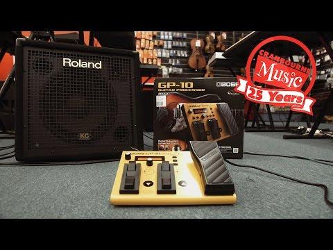 Boss GP-10 Guitar-Synth Demo