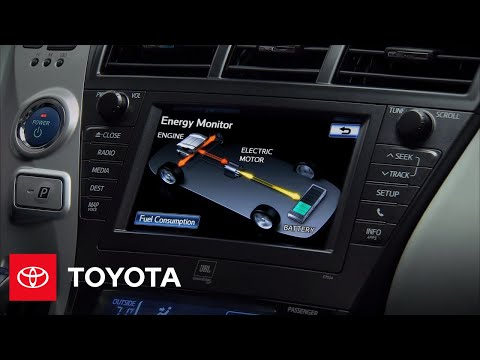 2012 Prius v How-To: Energy Monitor | Toyota