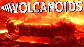 INSIDE A VOLCANO?! Breaking into Area 2! [NEW UPDATE!] - Volcanoids Pre-Alpha Gameplay Ep2