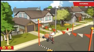 Animação Total Jogos Episodio 02 - Kick Buttowski a Corrida do Século