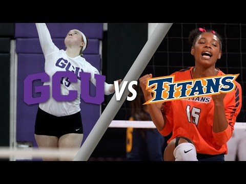 Women's Volleyball vs Cal State Fullerton Sept 3, 2016