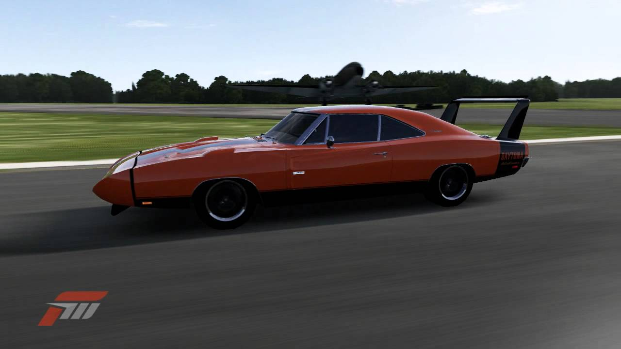1969 Dodge Charger Daytona Hemi At Top Gear Test Track Outer Loop