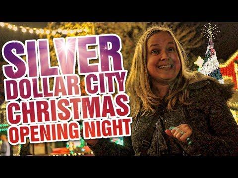 Silver Dollar City Christmas 2019 | Opening Night |  Inaugural Christmas Tree Lighting | Tour