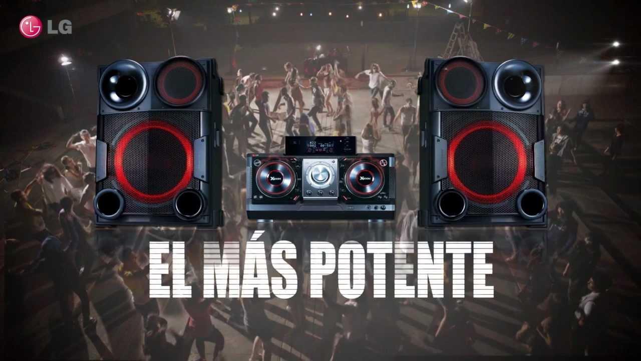 Lg x boom el equipo de sonido mas potente youtube - Las mejores minicadenas ...