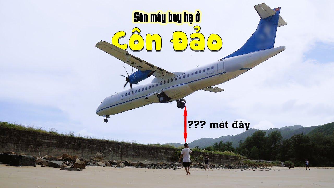 Hú hồn đang tắm biển bị máy bay hạ sát đầu - Trải nghiệm độc nhất Việt Nam tại bãi Đầm Trầu Côn Đảo
