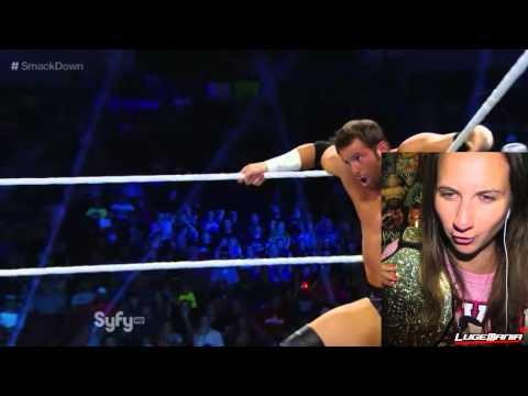 WWE Smackdown 9/5/14 Bo Dallas vs Zack Ryder Live Commentary