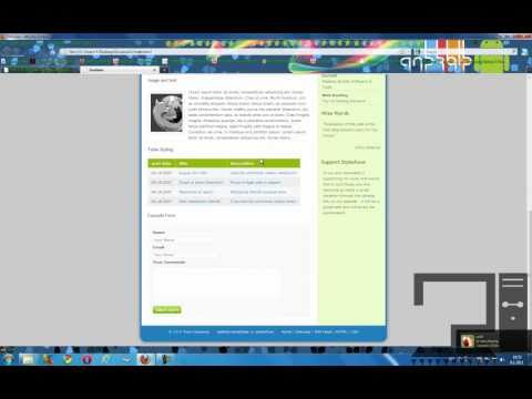 How to Download Free Website Templates !!!
