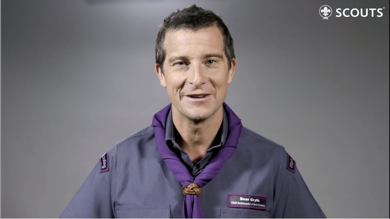 Image result for World Scout Ambassador Bear Grylls