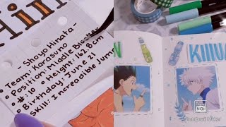 Anime Journal | Tiktok Compilation