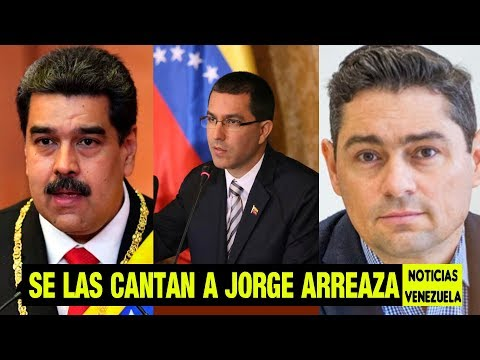 Se las cantan a Jorge arreaza - noticias de venzuela hoy 7 abril 2019 - maduro quiere dialogos