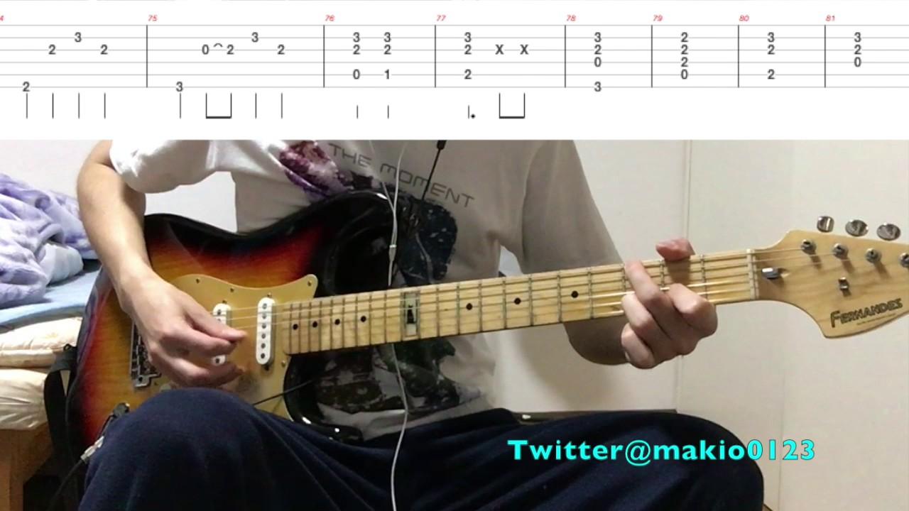 【告白(ギターTAB譜付き)】〜テンポ遅めなので練習用に ...
