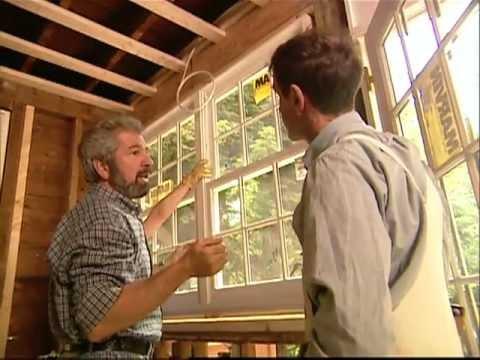 How To Install Large Double Window - Shingle Style Home - Bob Vila eps.1411