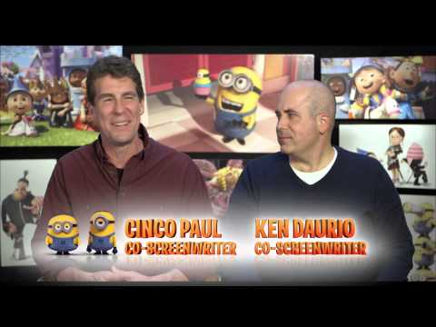 Despicable Me 2 - Behind the Scenes - Voicing Evil Minions