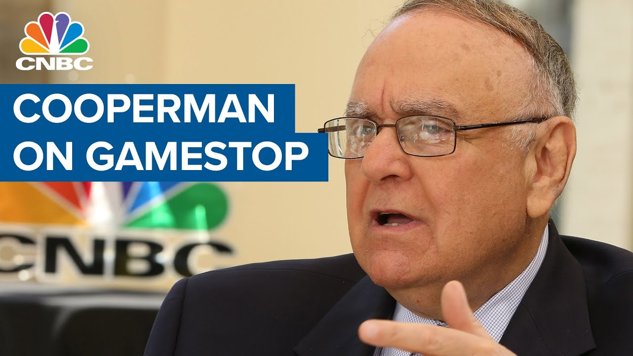 Billionaire investor Lee Cooperman on GameStop: This is not going to end well for the public