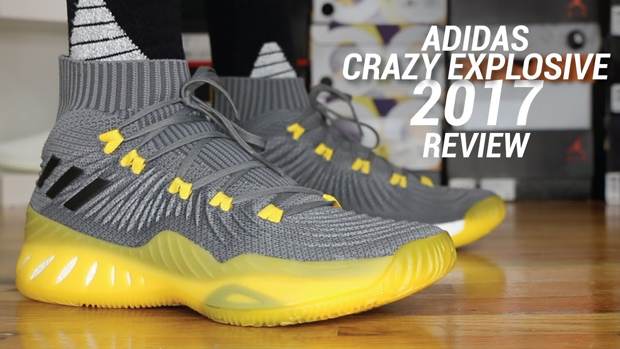 100% authentic 27be8 26ec9 ADIDAS CRAZY EXPLOSIVE 2017 PK REVIEW