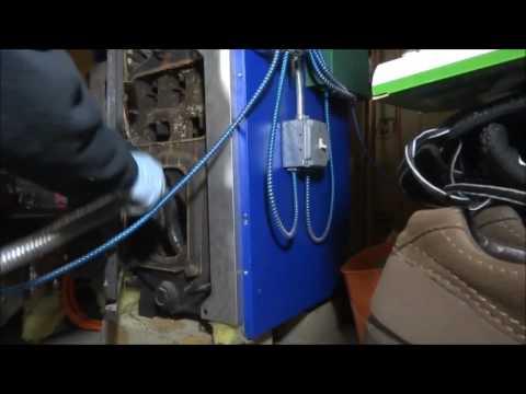 riello oil burner clean & check