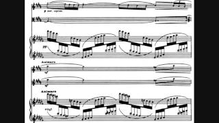 Play Sonate en trio, for flute, viola & harp, L. 137