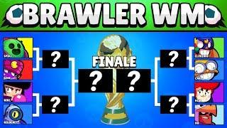 Brawler WM 2019! 🏆 | Welche Brawler sind besser? | Brawl Stars deutsch