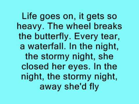 Coldplay - Paradise Lyrics