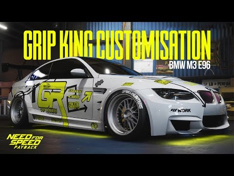 Need For Speed Payback - NFS ProStreet 'Grip King' M3 WRAP