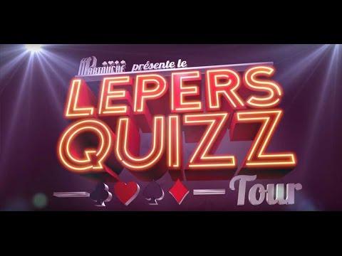 Lepers Quizz Tour : Nicolas Descamps et Giovanni Moneta