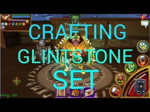 Arcane Legends Crafting Glintstone Set