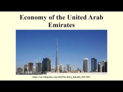 Economy of the United Arab Emirates