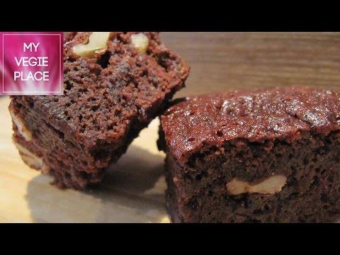 Receta Brownie de Chocolate (Vegano)