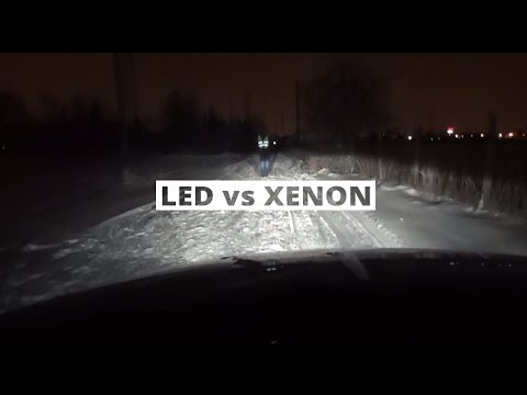 Led Vs Bi Xenon Praktyczne Por 243 Wnanie Youtube