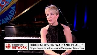 Clip of Joyce DiDonato interview with Ian Hanomansing on CBC News Network