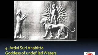 Iranian/Persian Mythology, Part I, Ahriman, Zoroaster, Ahura Mazda, Mithras, Vayu, Tishtar, Apousha