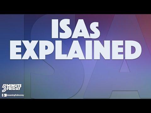 ISAs Explained - 5MF029