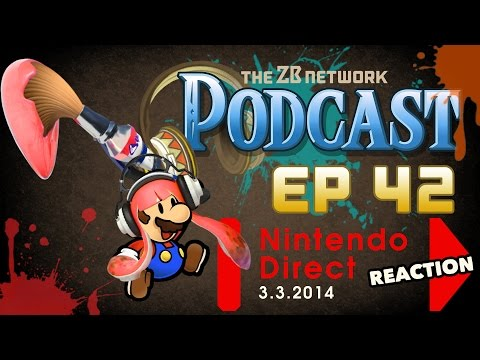 Nintendo Direct (March 2016) LIVE REACTION - Episode 42 - ZBN Podcast