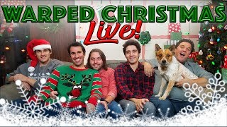 WARPED CHRISTMAS LIVE! | The Warp Zone | PS4
