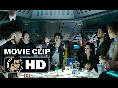 ALIEN: COVENANT Movie Clip - Prologue Last Supper (2017) Danny McBride Sci-Fi Horror HD