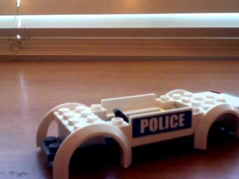 how to build a police car