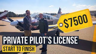 Getting Your Private Pilot's License // Full Process Start to Finish