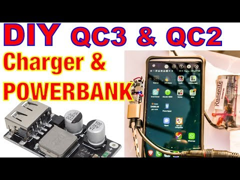 $10 DIY QC Quick Charge 3.0 2.0 Phone Charger Powerbank