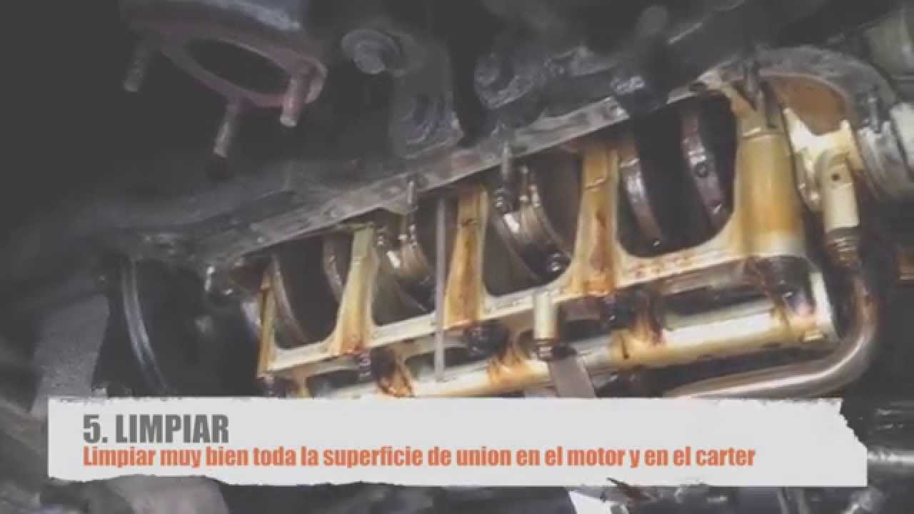 Cambio de empaque de carter del motor honda civic 95 youtube for Como cambiar los empaques de la regadera
