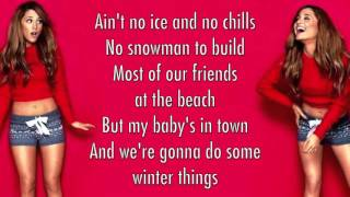 Ariana Grande - Winter Things (Lyrics)