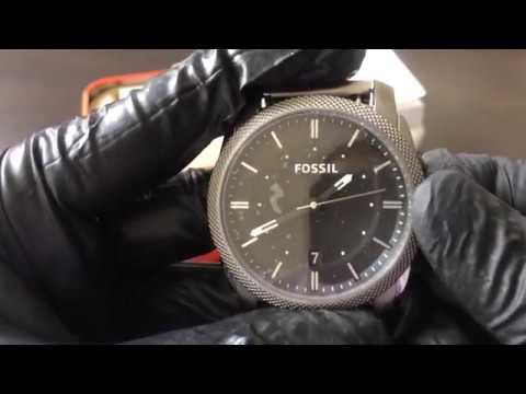 25fe3df3f0be Reloj FOSSIL FS4774 - UNBOXING FOSSIL Watch FS4774 (Regaloj) - YouTube