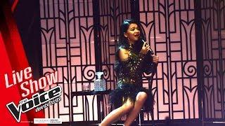 แตงโม - มือถือไมค์ไฟส่องหน้า - Live Show - The Voice Thailand 2018 - 4 Mar 2019
