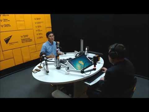 """Дал интервью на радио """"Спутник""""о канале """"KYRGYZSTAN ONLINE"""" смотрите видео версию."""